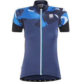 Sportful Primavera Bike Jersey Shortsleeve Women blue/turquoise